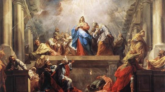 Uroczystość Zesłania Ducha Świętego (8 czerwca 2014)